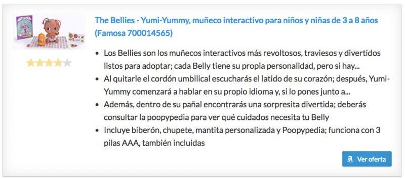 Bellies Yumy Yummy