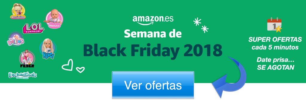 Banner amazon black friday ofertas muñecas 2018