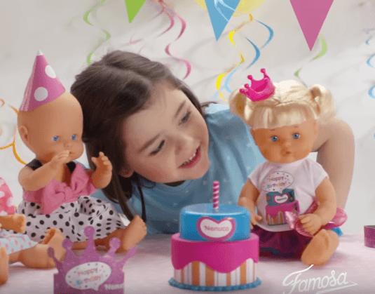 muñeca nenuco cantando cumpleaños