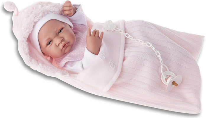 Bebé REBORN NIÑA valor pesado primera Reborn Tutú Azul M