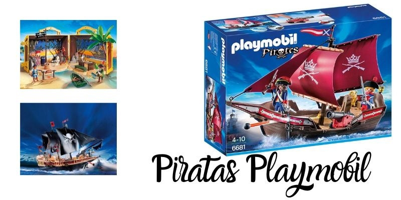 Piratas Playmobil barcos